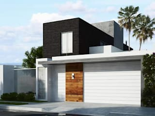 Houses by Amauri Berton Arquitetura, Minimalist