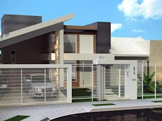 Houses by Amauri Berton Arquitetura, Eclectic