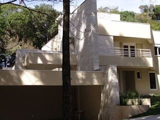 casa de condominio:   por NAHAS NETO ARQUITETURA PLANEJAMENTO E CONSTRUÇÃO