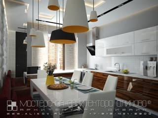 Кв Хетага: Столовые комнаты в . Автор – Мастерская архитектора Аликова