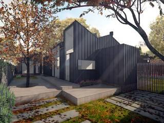 Casa LaBu,  Concón, V Región de Valparaiso HVH arquitectura:  de estilo  por HVH  arquitectura