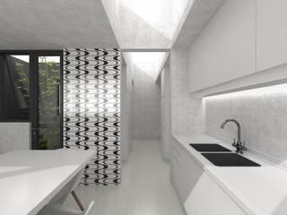 Cocina BA/CA:  de estilo  por HVH  arquitectura