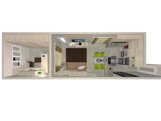 โดย Viviane Amorim Arquitetura & Interiores