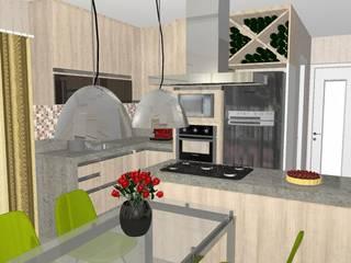 Projeto de Interiores por Viviane Amorim Arquitetura & Interiores
