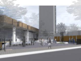 Plaza Assler:  de estilo  por HVH  arquitectura