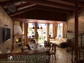 Modern Dining Room by Мастерская архитектора Аликова Modern