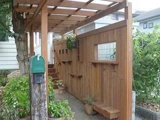 「上質な彩り。」: GAZON~ガゾン~が手掛けた庭です。