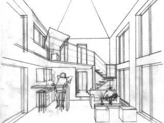 Country style house by AUREA Estudio de Diseño Country