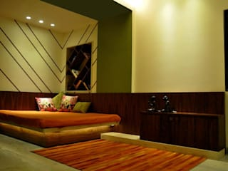 Mittal Residence, Colaba, Mumbai :  Bedroom by Inscape Designers