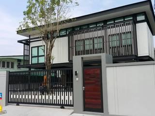ฐานรากซุ้มประตูบ้าน คุณพสิฐพงศ์ โดย บริษัทเข็มเหล็ก จำกัด