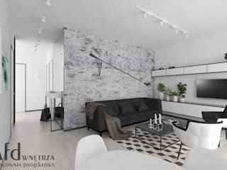 Living room by AFD Pracownia Projektowa,