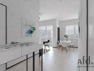 Corridor & hallway by AFD Pracownia Projektowa, Scandinavian