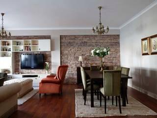 Öykü İç Mimarlık – Akasya Residence 1:  tarz Oturma Odası