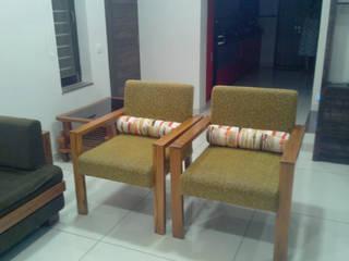 Modern Living Room by Swastik Modern