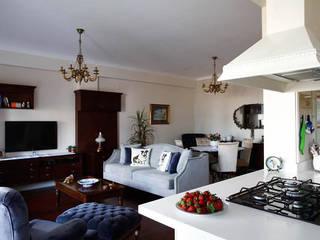 Öykü İç Mimarlık – Akasya Residence 2:  tarz Oturma Odası