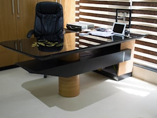 Office swapna srushti furniture: modern  by Swastik,Modern