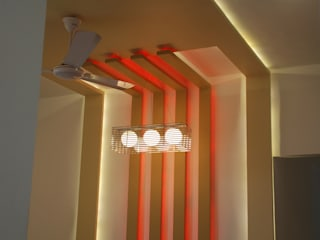 Office swapna srushti furniture Modern dining room by Swastik Modern