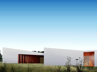 Casa Cotos: Casas de estilo  de idearch studio