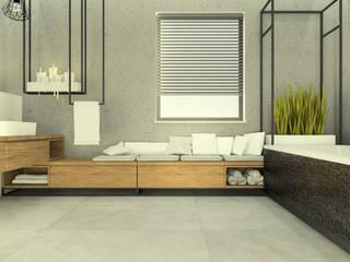 Baños de estilo industrial de Esteti Design Industrial