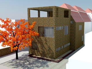 Modern houses by DIMA Arquitectura y Construcción Modern
