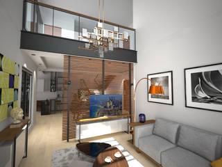 Maison particulière par Martin Schiller Design Studio