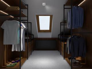 PRØJEKTYW | Architektura Wnętrz & Design 更衣室