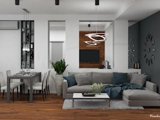 "Apartment ""Okolycya"": Гостиная в . Автор – Natali Vasilinka"