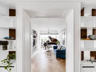 Klassischer Balkon, Veranda & Terrasse von 爾聲空間設計有限公司 Klassisch