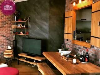 Mozilya Mobilya – Kestane Ağacı Yemek Masası :  tarz