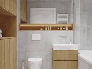 ห้องน้ำ by PRØJEKTYW | Architektura Wnętrz & Design