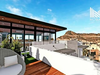 Modern Terrace by MOBAH Arquitectura Modern
