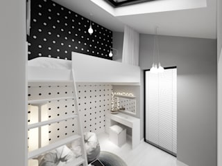 غرفة الاطفال تنفيذ PRØJEKTYW | Architektura Wnętrz & Design