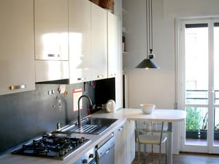 Cuisine de style  par Atelier delle Verdure,