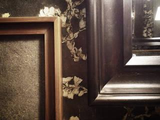 Come sull'Orient Express Bagno eclettico di Mostarda Design Eclettico