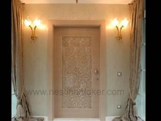 İç Mimar Neslihan Toker – Villa Giriş Kapısı:  tarz