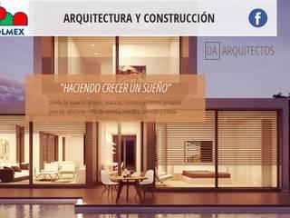 HACIENDO CRECER UN SUEÑO: Casas de estilo  por COLMEX ARQUITECTURA Y CONSTRUCCION