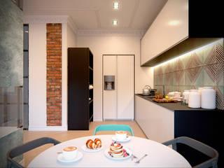 ЖК Barkli Residence: Кухни в . Автор – Happy Design
