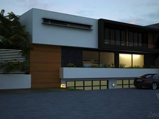 V Arquitectura Modern Houses White