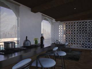 V Arquitectura Kitchen White