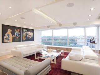 Veramonte II Salones modernos de Sobrado + Ugalde Arquitectos Moderno