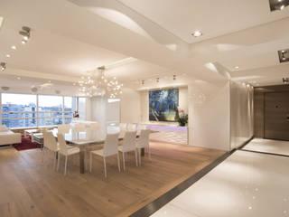 Salon moderne par Sobrado + Ugalde Arquitectos Moderne