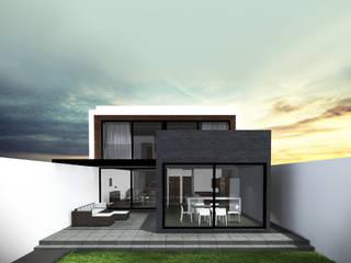 Casa Jurica Casas modernas de Bloque Arquitectónico Moderno