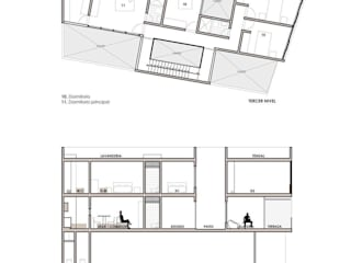Casa Bernal: Anexos de estilo  por POMAC Arquitectos