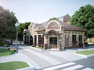 Концепция ресторана в центре г. Краснодара от Pugachev Design PRO Классический