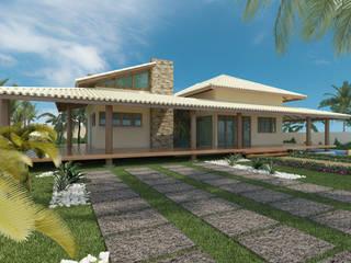 Casa estilo moderno por Alvaro Camiña Arquitetura e Urbanismo Moderno