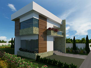 Prédio Comercial Casas modernas por Alvaro Camiña Arquitetura e Urbanismo Moderno