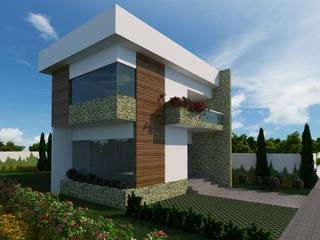 Casas modernas por Alvaro Camiña Arquitetura e Urbanismo Moderno