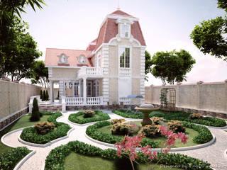 Частный дом в классическом стиле Дома в классическом стиле от Pugachev Design PRO Классический