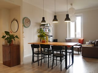 Scandinavian style dining room by ArchEnjoy Studio Scandinavian
