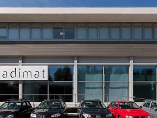 Padimat Design+Technic Galerías y espacios comerciales de estilo minimalista
